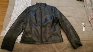 Real leather jacket Emporio Armani