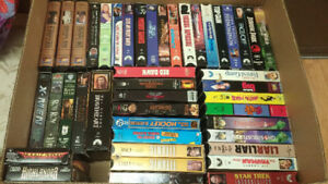 VHS & DVD TAPES