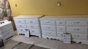 6 Professionally painted vintage dresser from $180 -$220 each