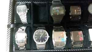 Watch collection! Mostly nixon