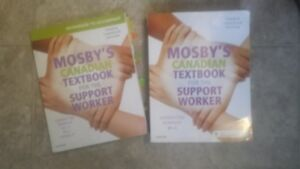 Mosbys Canadian text for the support worker(package)