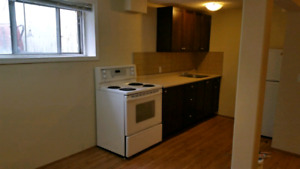 Acadia bsmt bachelor suite near Heritage LRT station $795 for si