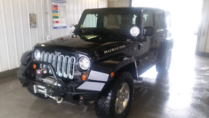 2012 Jeep Wrangler Unlimited Rubicon - Immaculate Condition