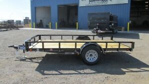 PRICE REDUCED!! 2017 SINGLE AXLE  TRAILER 14FT (3500LBS GVW)