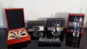 Riedel Glassware New in Boxes