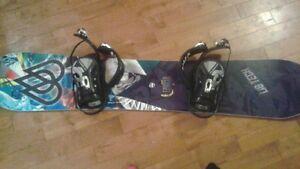 ensemble de snowboard