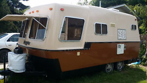 The Bigger (Biggar) Boler - 19' tandem axle  SOLD