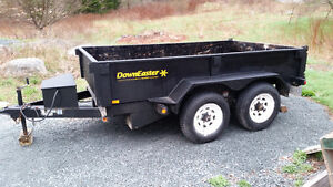 Downeaster Dump trailer 6 x 10 5000lb axles