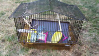 Selling Small Birdcage with peripherals