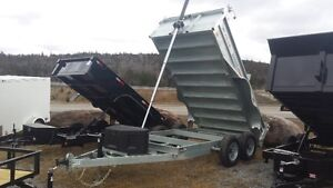 Factory Outlet Pricing on High Quality Dump Trailers