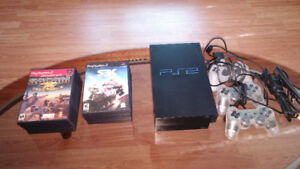 PS2 CONSOLE CONTROLS AND GAMES