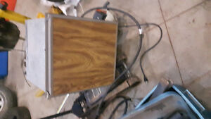 small propane 12 volt and electric fridge