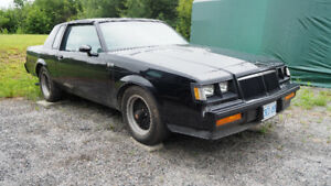 85 grand national 1 of 200  T-Top GNX clone