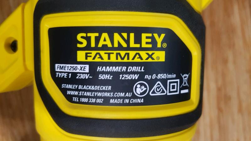 b12ddc7f4df Stanley Fatmax Hammer Drill FME1250-XE