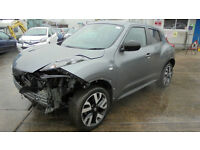 NISSAN JUKE 1.6 16v N TEC DAMAGED REPAIRABLE SALVAGE