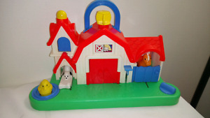 Fisher Price Vintage Interactive Barn