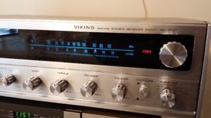Viking Home Stereo Receiver AM/FM with 8 Track