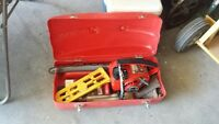 Power saw and accessories,
