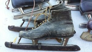 Vintage Leather Skates 60+ yrs old Strathcona County Edmonton Area image 2