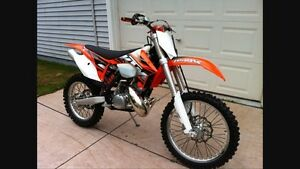 Looking for ktm 150, 200, 250