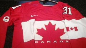Signed Carey Price - Canadian Olympic Jersey Sochi 2014