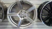 "18"" SPYN C-SPEC SILVER MACHINED ALLOY WHEELS"