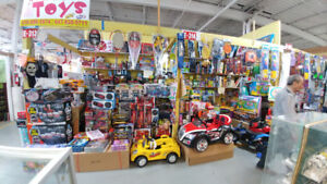 TOYS RUNNING BUSINESS IN FLEA MARKET (DIXIE 401) FOR SALE