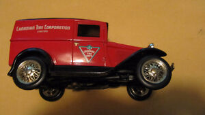 Canadian Tire Limited Edition Model A Ford truck bank + key- West Island Greater Montréal image 6