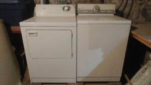 Well loved Maytag washer and dryer set