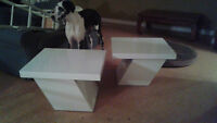 Beautiful Modern End Tables and Coffee/Sofa Table
