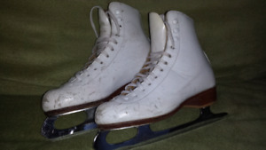 Riedell Figure Skates with Wilson Wizard Blades