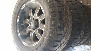 Dodge bolt pattern 35inch tires on 20inch rims