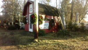 Christmas Trees, Hand made Wreaths, Garland, Swags and brush