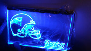 New England patriots neon sign 8 by 10