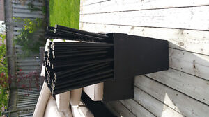 Metal fence railings/balusters for sale