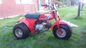 ATC HONDA 70 RUNS AND DRIVES AND THE BRAKES WORK