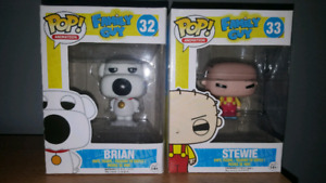 Family guy pop toys