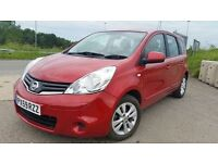 Nissan note automatic 1.6 petrol