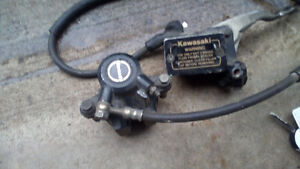 Caliper with hoses and everything as shown Kitchener / Waterloo Kitchener Area image 4