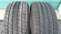 Selling 2 Michelin size 225 60 16 all season tires