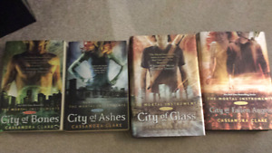 Mortal Instrument book series 1-4