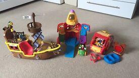 Mickey Mouse + Jake Toys