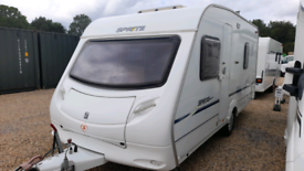 2006 SPRITE MAJOR FIXED BED VGC LIGHT WEIGHT
