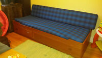 Convertible day bed perfect for small space