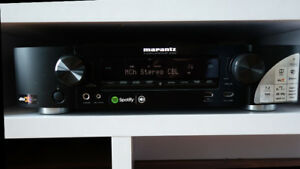 Marantz NR1606 Slim 7.2 Channel Full 4K UHD Receiver w/ Airplay