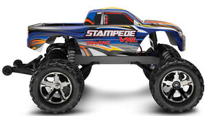 Traxxas RC 1/10 VXL Stampede Monster Truck Windsor Region Ontario image 1