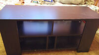 """32""""-42"""" black tv stand for sale!"""