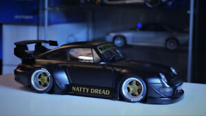 AUTOart 1/18 RAUH-welt Begriff (RWB) Porsche 911 (993) - BLACK