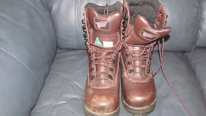 Red Wing Steel Toe Boot sz 7D