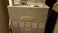 Armstrong HE Natural Gas furnace and Amana Air Conditioner